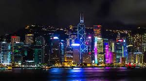 What Time Is The Light Show In Hong Kong Hong Kong Light Show During The Super Moon Time Lapse