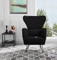 Furniture: Blue Grey Comfy Accent Chairs - Modern Accent Chairs