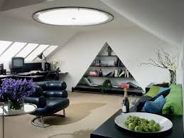 size 1024x768 simple home office. Home Office : Interior Design Small Modern Attic With Slooping Window Triangle Built Bookcase Oversized Ceiling Lamp And Decoration Ideas Size 1024x768 Simple P