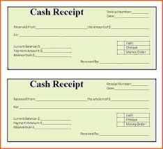 Cash Receipt Forms Cash Receipt Form Template Free Accomuna
