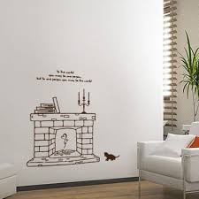 um size of designs inexpensive fake fireplace wall sticker with amazing red hd size decal