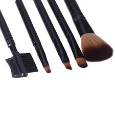 professional makeup kit 5 pcs cosmetics brushes set makeup tool s golden tomtop