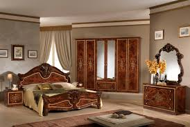 Bedroom Inspirational Italian Bedroom Furniture With Dark Brown