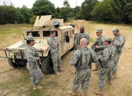 Military Police National Guard The Day Military Police Trainees Know Deployment May Be Part Of