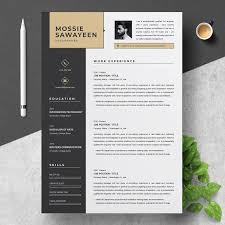 Modern Resumes Mesmerizing Professional Resume Template Resume Templates Creative Market