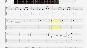 don t fear the reaper sheet music blue oyster cult don t fear the reaper bass guitar tab youtube