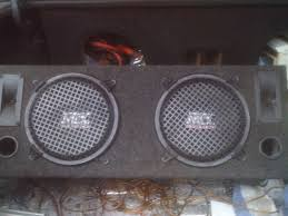 speakers in box. (2) 10 mtx speakers in ported box $65 or best offer - 100381253 | custom subwoofer classifieds sales speakers in box