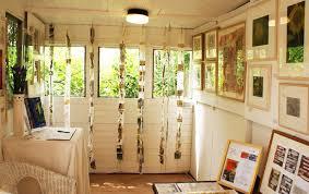 my dream art studio in the garden
