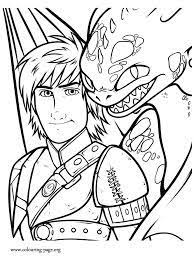 How To Train Your Dragon Coloring Pages Kids Coloring Pinterest