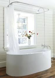 shower curtain for freestanding tub free standing shower curtain