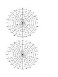 Free Printable Polar Coordinate Graph Paper Download 537