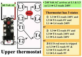 wiring diagram water heater how water heater thermostats works some thermostats the l2 and t1 screws are empty slot or wiring diagram