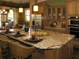Granite Kitchens Furniture Enchanting Silestone Vs Granite For Elegant Countertop