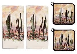 Dee Design Kitchens Amazon Com Kay Dee Designs 4 Piece Desert Sunset Kitchen