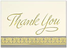 Thank You Cards Design Your Own Card Design Ideas Gold Blank Thank You Cards Classic Themes Sample