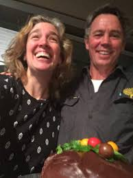 "Hilary Harper on Twitter: ""Andrew and the cake! #nostevia #zucchini  #tomatoes https://t.co/129zuyweOn"""