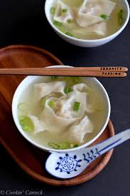 shrimp and pork wonton soup recipe make easy asian take out at
