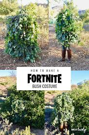how to make a fortnight bush costume learn how to make a cool fortnite costume
