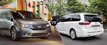 A potência do motor rotativo: Toyota sienna vs honda odyssey