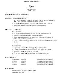 Sample Resume Free Inspiration How To Do A Resume For A Job Generalized Cover Letter Sample Free R