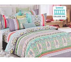Mint Haze Twin XL Comforter Set - College Ave Designer Series ... & Dorm Bedding for Girls Twin XL Comforter Set Mint Haze Extra Long Dorm Room  Comforter Adamdwight.com