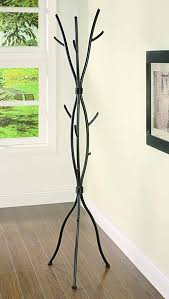 Metal Tree Branch Coat Rack Delectable Amazon Coaster Casual Brown Twig Style Metal Coat Rack Kitchen