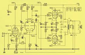 elektor ten watt valve amplifier just four valves the circuit diagram for this amplifier is very unusual for elektor the reason for this is of course the fact that it contains four valves
