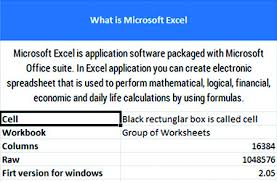 Microsoft Excel Basics What Is Microsoft Excel Klient