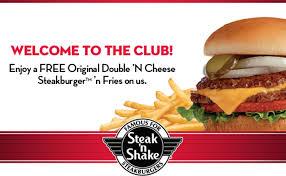steak n shake eclub free original