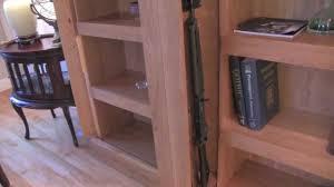 ... Stunning Ideas Hidden Gun Cabinet Furniture Q Line SafeGuard Shelving  System YouTube ...