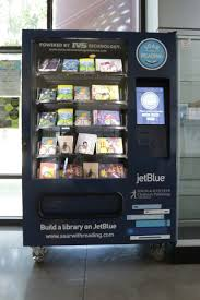 Book Printing Vending Machine Extraordinary JetBlue JetBlue's Soar With Reading Initiative To Provide 4848