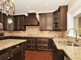 Kitchen Colors With Brown Cabinets Majestic Design 14 Best 10