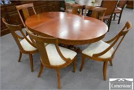 ethan allen maple dining table gallery round room tables ethan allen dining room chairs