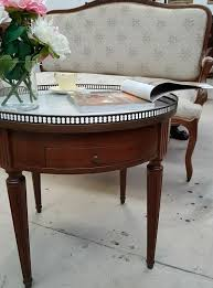 french round marble top coffee table