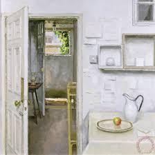 open door painting. Open Doors With Still Life And Letter Painting - Charles E Hardaker  Open Door K