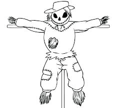 printable scarecrow coloring pages scarecrow color pages free scarecrow coloring pages for kindergarten scarecrow coloring page