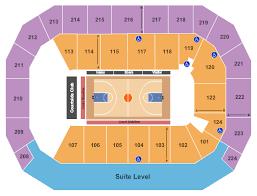University Of Texas Basketball Seating Chart Baxter Arena Seating Chart Omaha