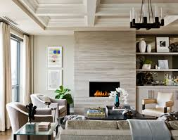 Framed Tv Above Fireplace 15 Tips On How To Make Your Ceiling Look Higher Stone Slab