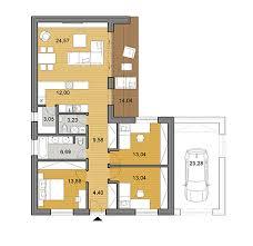 architecture house plans. Modren House House Plan Of Bungalow  104 M2 Throughout Architecture Plans