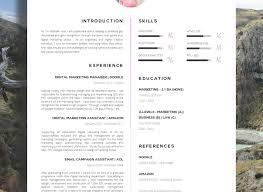 Full Size of Resume:beautiful Resume Formats Beautiful Resume Templates The  Yosephine Resume Ravishing Resume ...
