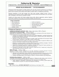 Cover Letter Sample Resume For Account Manager Sample Resume For