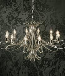 smart contemporary 12 light chandelier polished nickel or brushed brass
