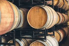 oak barrels stacked top. Oak Barrels And Alternatives In Winemaking Stacked Top A