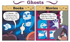 harry potter books vs movies post ghosts