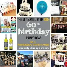 60th birthday gift ideas for men party decorating on a budget you