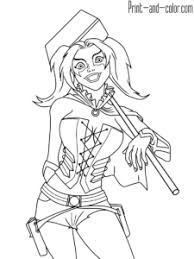 After such success in the cartoons she made it into the comics. Pin On Harley Quinn Coloring Pages