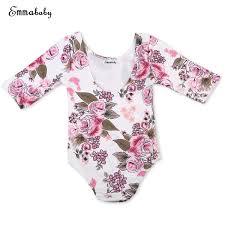 Kids Baby Girls <b>Rompers</b> Toddler <b>Long Sleeve Floral Romper</b> baby ...