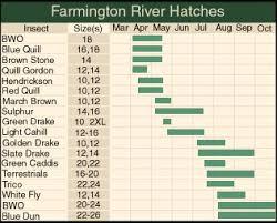 25 Rational Farmington River Hatch Chart