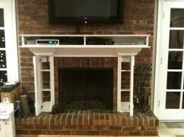 fireplace mantel tv stand fireplace design ideas