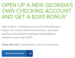Claim inquiries should be directed to the georgia department of labor. Expired Ga Only Georgia S Own Credit Union 200 Checking Bonus Doctor Of Credit